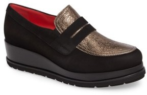 Pas De Rouge Women's Platform Loafer
