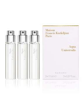 Francis Kurkdjian Aqua Universalis Eau de Toilette Spray Refills, 3 x 0.37 oz./ 11 mL