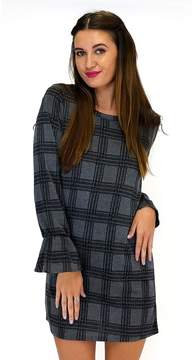 Everly Mad About Plaid Shift Dress