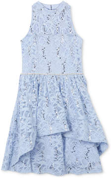 Speechless Sequin Lace Dress, Big Girls