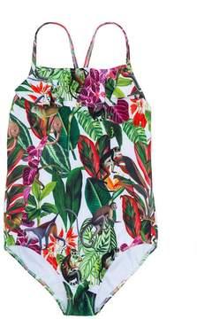 Oscar de la Renta Kids Jungle Monkeys swimsuit