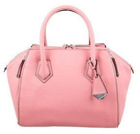 Rebecca Minkoff Perry Leather Satchel - PINK - STYLE