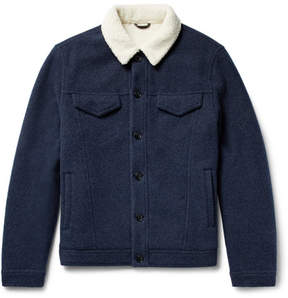 Loro Piana Faux Shearling-Lined Virgin Wool And Cashmere-Blend Jacket