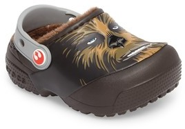 Crocs Toddler Boy's TM) Fun Lab Faux Fur Lined Chewbacca(TM) Clog