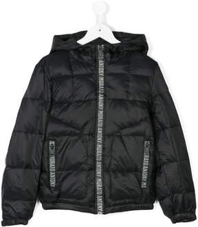 Antony Morato logo detail padded jacket