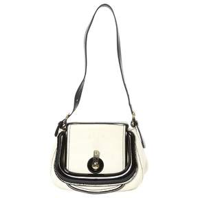 Fendi Ecru Cloth Handbag