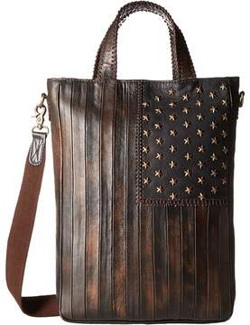 Scully Leather Patriotic Rockin Tote Tote Handbags