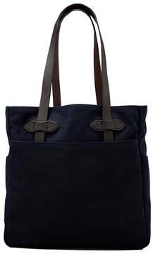 Filson Open Tote Bag in Navy.