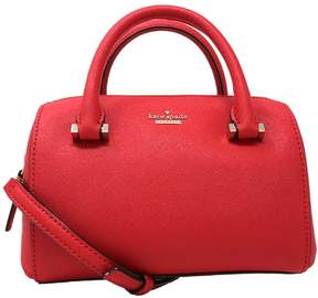 Kate Spade Women's Cameron Street Lane Satchel Leather Cross Body Bag - Rooster Red - ROOSTER RED - STYLE