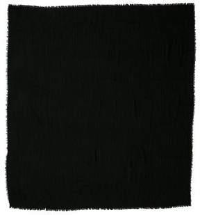 Versace Wool & Silk-Blend Medusa Print Scarf