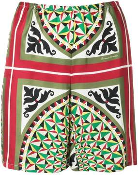 Barena printed shorts