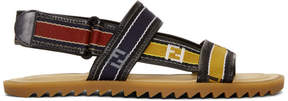 Fendi Multicolor Forever Strap Sandals