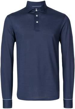 Hackett long sleeve polo shirt