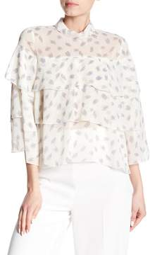 Bishop + Young Pailey Tiered Ruffle Blouse