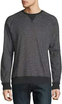 2xist Men's Heathered Raglan-Sleeve Sweatshirt