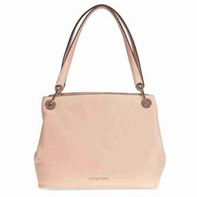 Michael Kors Raven Large Leather Shoulder Tote - OYSTER - STYLE