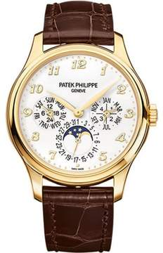 Patek Philippe 5327J 18K Yellow Gold / Leather 39mm Mens Watch
