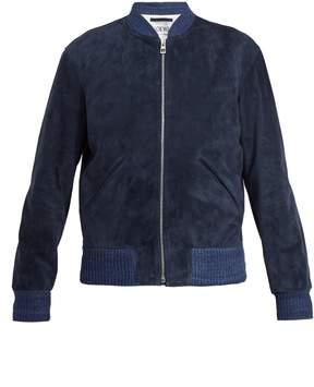 Loewe Suede bomber jacket