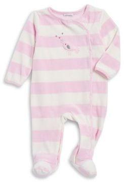 Absorba Baby Girl's Striped Footsies