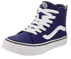 Vans Kids Sk8-hi Zip (pop Check) Skate Shoe.