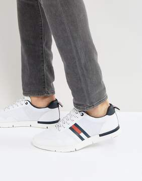 Tommy Hilfiger Tobias Logo Sneakers in White