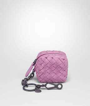 Bottega Veneta Twilight Intrecciato Nappa Key Ring