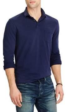 Polo Ralph Lauren Hampton Long Sleeve Cotton Polo Shirt