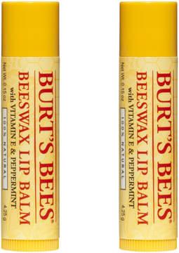 Burt's Bees Beeswax Lip Balm 2 Tubes