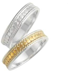Anna Beck Women's Two-Tone Stacking Rings (Set Of 2)