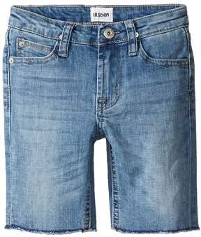 Hudson Hess Cut Off Slim Straight Shorts in Rhythm Blue (Toddler/Little Kids/Big Kids)