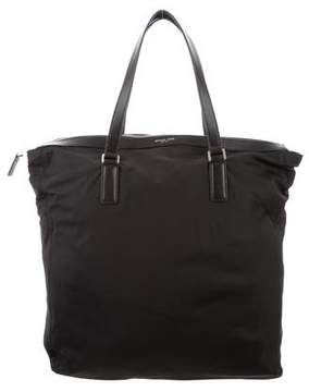 Michael Kors Leather-Trimmed Nylon Tote