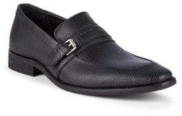 Calvin Klein Reyes Tumbled Leather Loafers