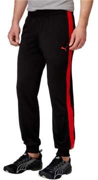 Puma Mens Contrast Casual Jogger Pants Black M/32