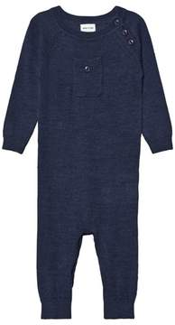 Mini A Ture Bigge Romper, B Mood Indigo