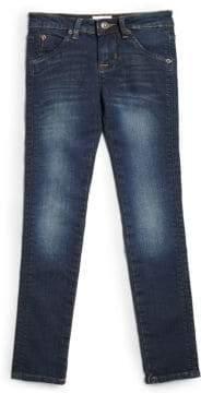 Hudson Girl's Collin Skinny Flap Pocket Jeans