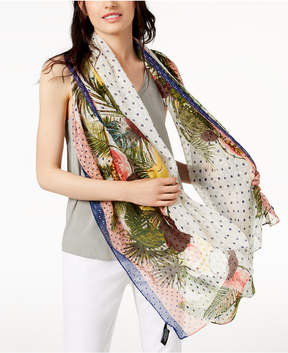 INC International Concepts I.n.c. Tropical Stripe Wrap & Cover-Up, Created for Macy's
