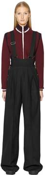 Diesel Black Gold Stretch Wool Overall Pants