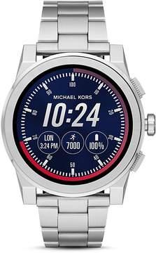 Michael Kors Grayson Stainless Steel Touchscreen Smartwatch, 47mm