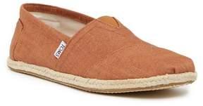 Toms Linen Classic Slip-On Shoe