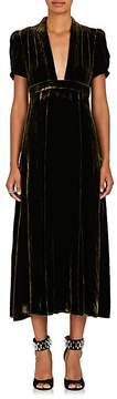 Barneys New York Women's Velvet Maxi Dress