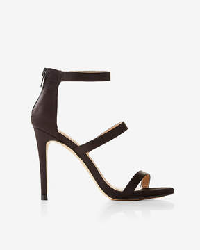 Express Satin Heeled Sandals
