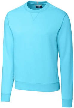 Cutter & Buck Turquoise Bayview Crewneck Sweatshirt - Men