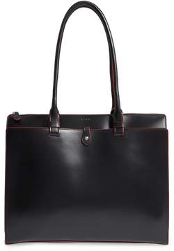 Lodis Los Angeles Audrey Under Lock & Key - Jessica RFID Leather Satchel