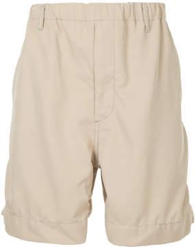 H Beauty&Youth elasticated waist shorts