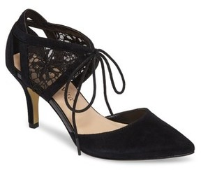 Bella Vita Women's Demi Lace D'Orsay Pump