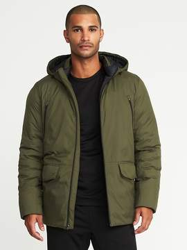 Old Navy Go-Warm Insulated Hooded Parka for Men