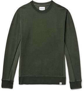 Norse Projects Vagn Mercerised Loopback Cotton-Jersey Sweatshirt
