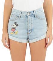 Disney Mickey Mouse Denim Shorts by SIWY