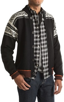 Dale of Norway Cortina Bomber Jacket - New Wool, Button Up (For Men)