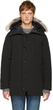 Canada Goose Black Down Chateau Parka